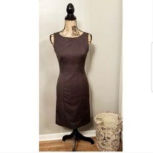 H&M Charcoal Gray Sheath Dress - Size 6